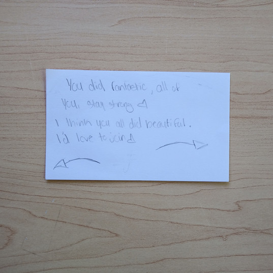 Anonymous Notecard 24
