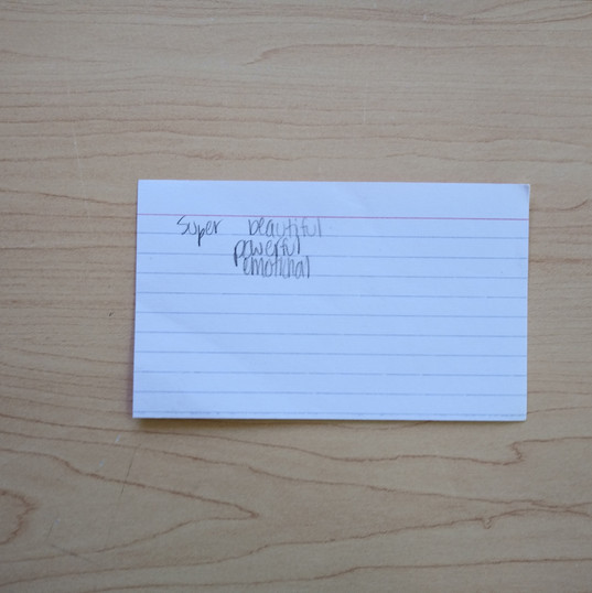Anonymous Notecard 15