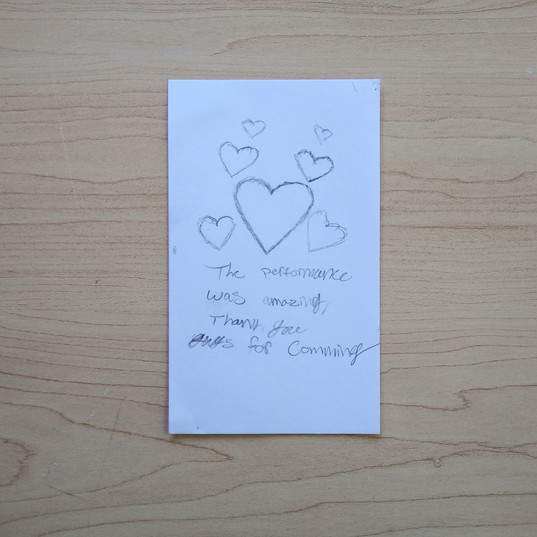 Anonymous Notecard 20