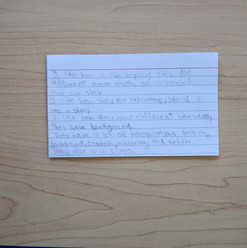 Anonymous Notecard 13
