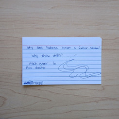 Anonymous Notecard 31
