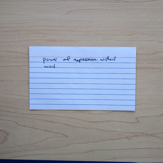 Anonymous Notecard 8