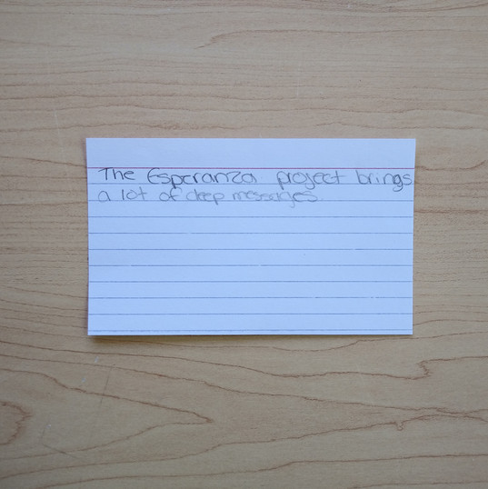 Anonymous Notecard 9