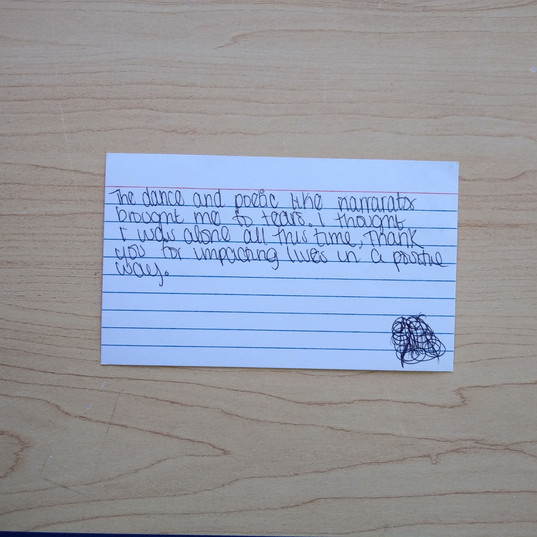 Anonymous Notecard 10