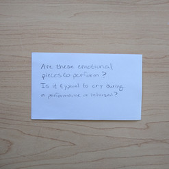 Anonymous Notecard 34