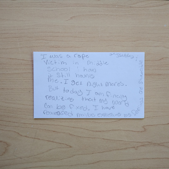 Anonymous Notecard 5