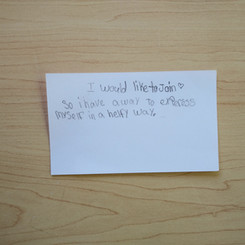 Anonymous Notecard 6