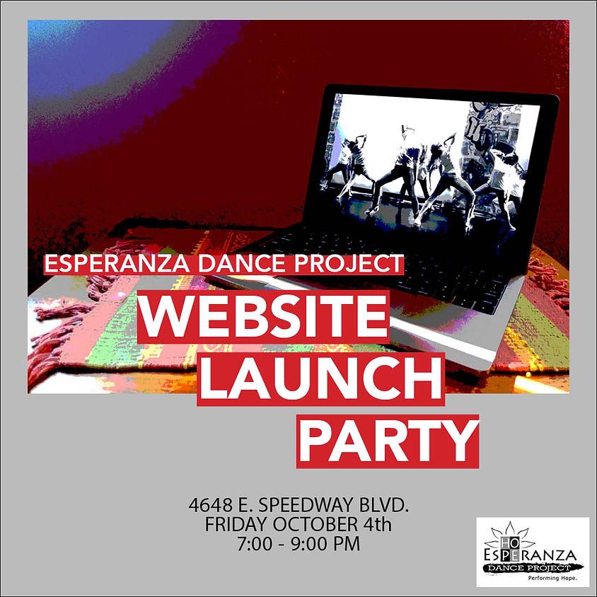 Website Launch Party!