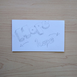 Anonymous Notecard 25
