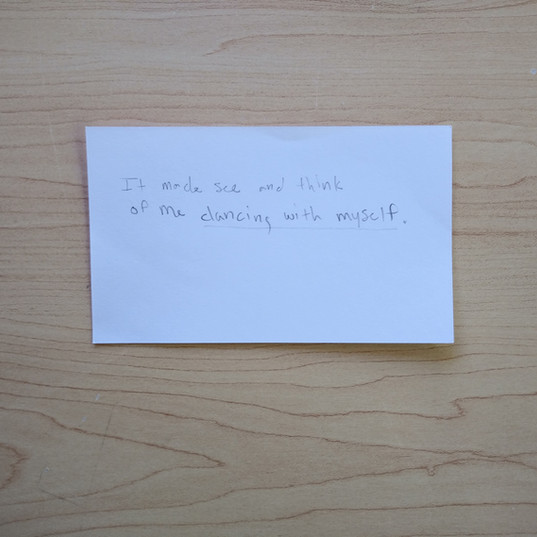 Anonymous Notecard 16