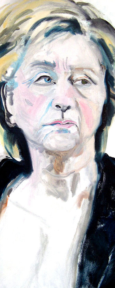 Bride Stripped Bare (Self as Hillary)