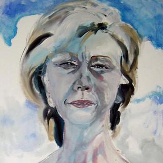 Self as Hillary in Bright Sun