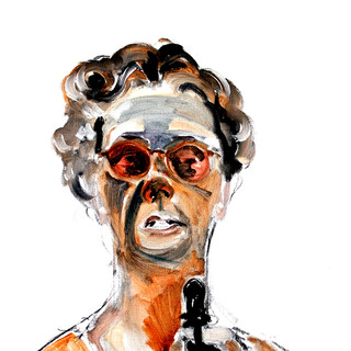 Self as Eleanor with Sunglasses