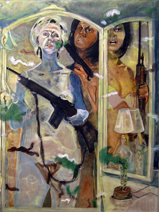 Militia (Self as Hillary & Michelle)