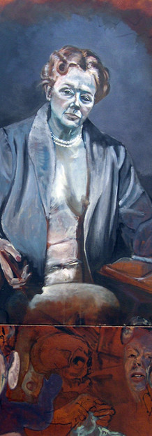 Self-portrait as Eleanor Roosevelt
