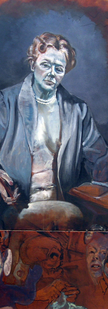 Self-portrait as Eleanor Roosevelt