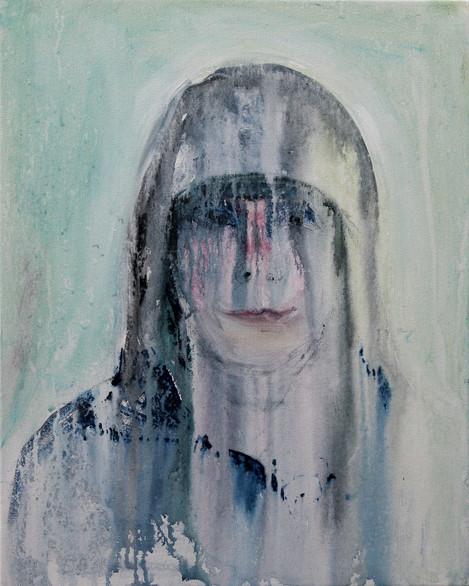 Self as Greta in the Rain