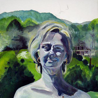 Self as Hillary in the Shenandoah