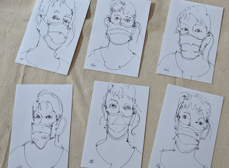 Self-portraits as First Responders