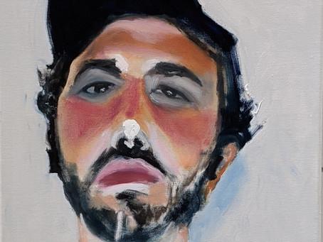 Portrait of Santino Fontana as David in The Line