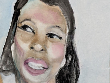 Portrait of Lorraine Toussaint as Sharon in The Line. #TheLine #ThePublicTheater #LorraineToussaint