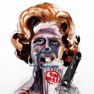 Self as Betty Eating Popcorn