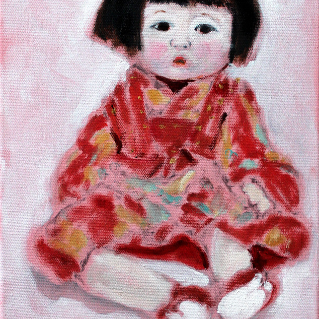 Japanese Girl Doll