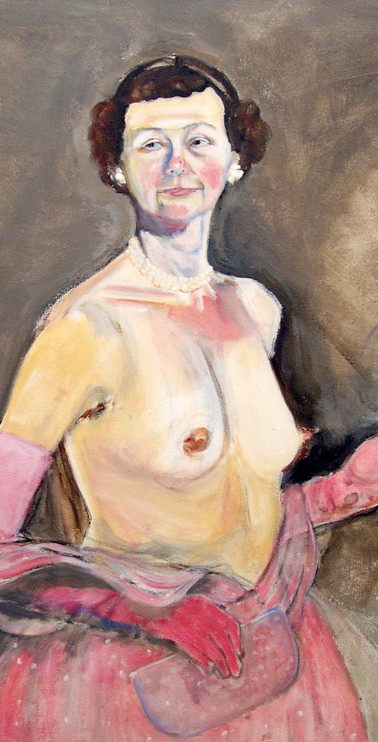 Self as Mamie Undressing