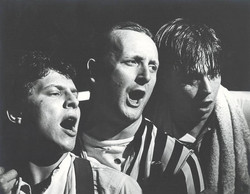 With Gary Oldman and Philip Whitchurch in 'They Shoot Horses Don't They'