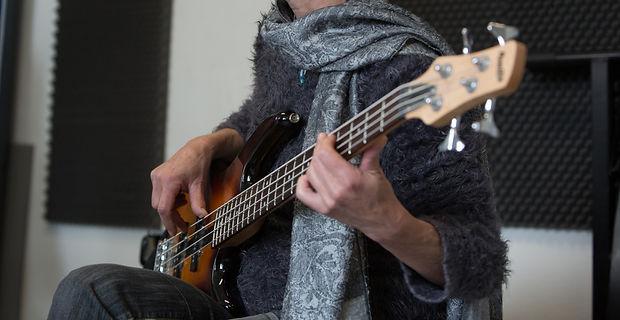 étudiant à l'école de musique musical'isle