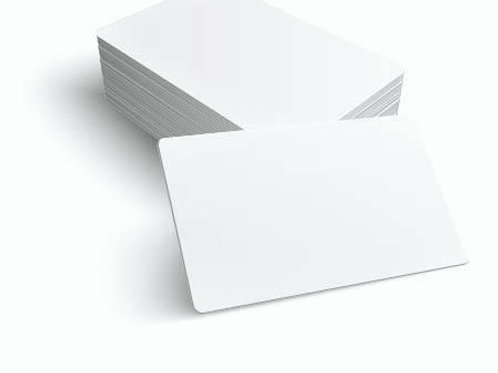 PVC Karte Premium 86 x 54 x 0,76 mm (100Stk.)