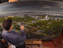 TajMahal Time-lapse Painting