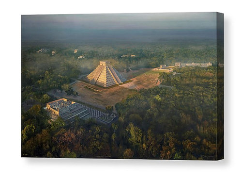 Chichen Itza In First Light, Limited Edition