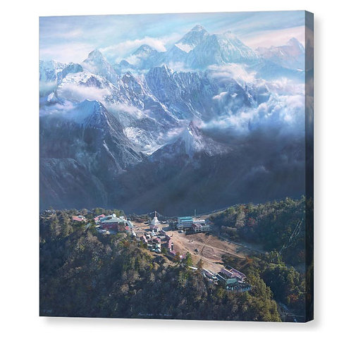 Mount Everest in the Himalayas, Limited Edition
