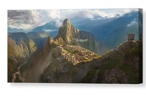 Machu Picchu After The Rain, Limited Edition