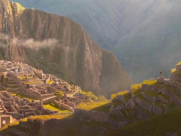 MACHU PICCHU Painting Reveal