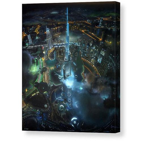 Dountown Dubai At Night, Limited Edition