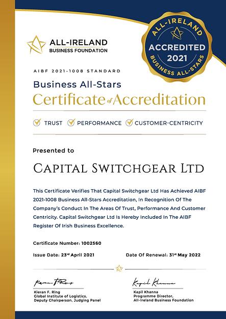 Accreditation---Capital-Switchgear-Ltd_C