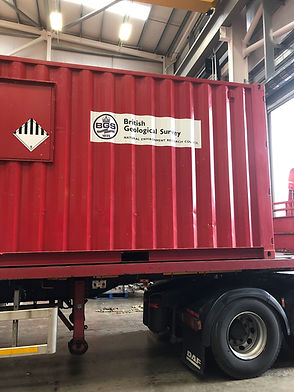 shipping container logistics interliner