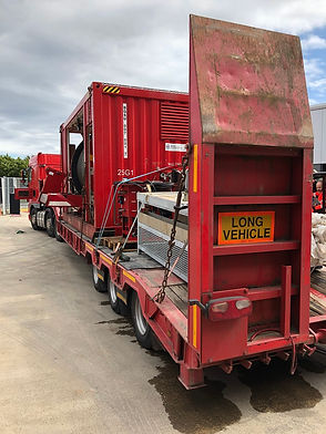 shipping container logistics interliner Cory Edinburgh