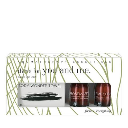 THREE FOR YOU AND ME - FOCUS & ENERGIZING