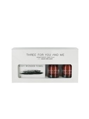 THREE FOR YOU AND ME