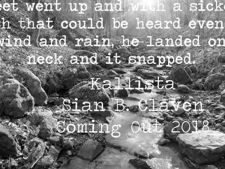 The First Draft of Kallista is done - Aren't you excited?
