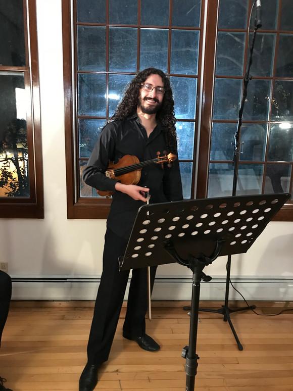 Violin para videoclip