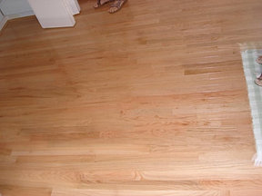 Cabin Grade Flooring. Red Oak Natural 21