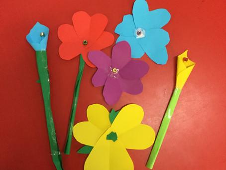 Fancy Paper Flowers