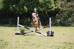 Zara jumping Thomas