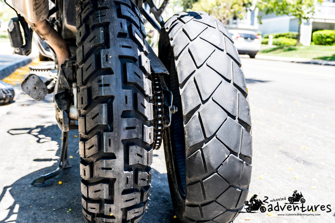 New tires for new adventures: Motoz Tractionator GPS