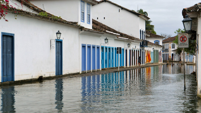 Living slowly in historical town Paraty