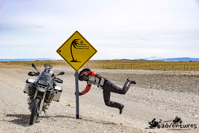 Riding down South on Ruta 40 in Argentina